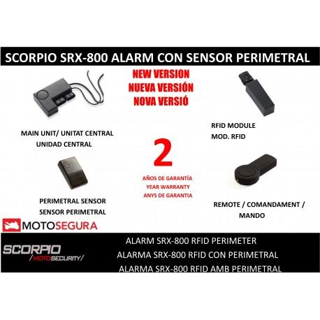 Alarma Scorpio SR-i800s - RFID CON SENSOR PERIMETRAL