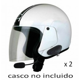 Kit 2 Manos Libres Moto Bluetooth MSB3