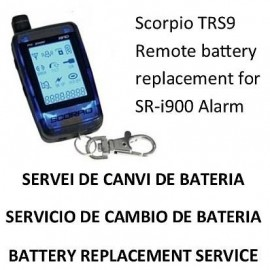 Remote control Scorpio Alarm SR-i900 (Battery Replacement Service On Demand)