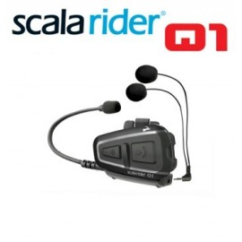 Scala Rider Q1 Bike-To Bike Motorcycle Intercom Communication Up To 1 Km