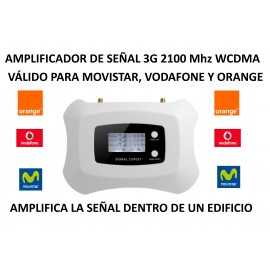 3G mobile amplifier 2100 Mhz for Movisar Vodafone Orange
