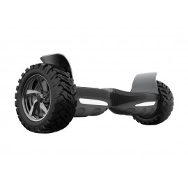 Patin electrico 2 ruedas off road autobalance con altavoces bluetooth negro