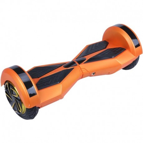 Patin electrico 2 ruedas autobalance con bluetooth orange