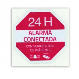 Connected Alarm Sign