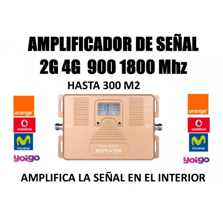 2G mobile amplifier GSM 900 Mhz for Movisar Vodafone