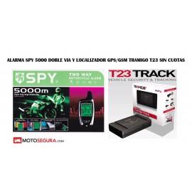 Alarma Spy 5000 Moto con Localizador GPS/GSM Tramigo T23 SINCUOTAS