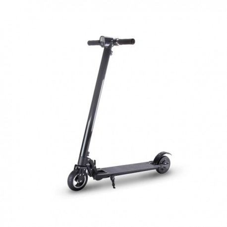 Personal city Scooter with folding handlebars with autonomy up to 20 km Black