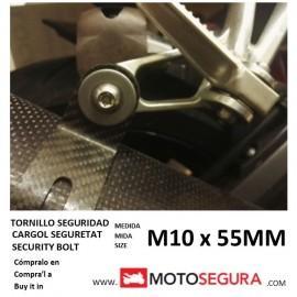 Tornillo de Seguridad tubo escape M10x55MM Yamaha XMAX