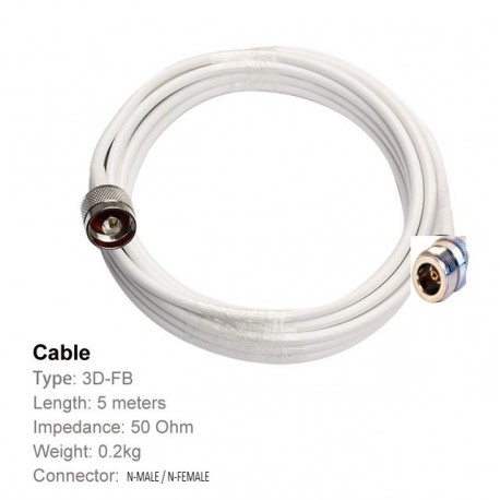 20M Cable for Mobile booster SMA