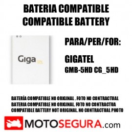 Compatible Lithium battery for Gigatel mobile phone GMB-5HD