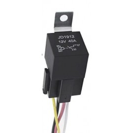 Rele precableado para intermitentes 12V para Alarma MOTOSEGURA MS200