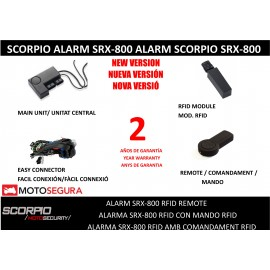 Scorpio Alarm SRX-800 RFID (With PERIMETRAL SENSOR) ONE WAY