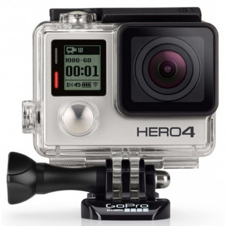 Video Camera GOPRO HERO 4 Silver 12Mpx