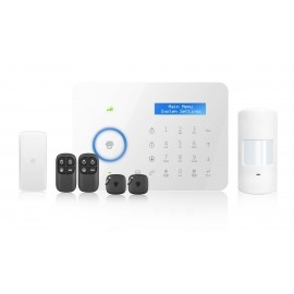 Alarma MSHOME B11 touch gsm and landline no fee 50z rfid kit