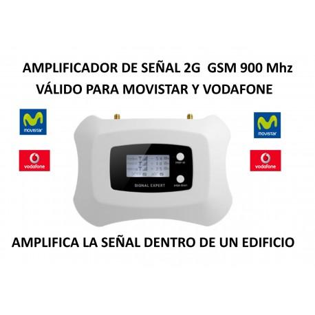 Amplificador de señal móvil 2G 900 Mhz para Movistar Vodafone