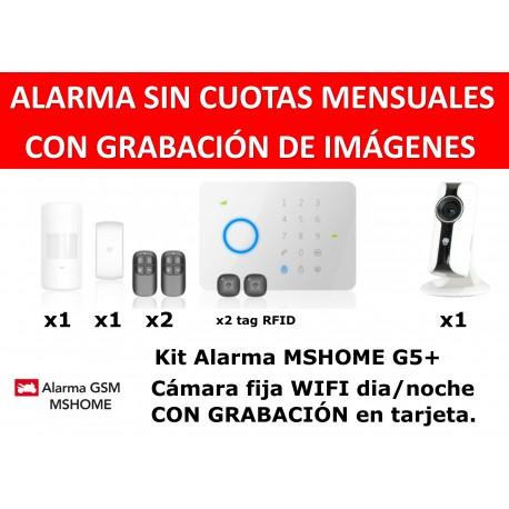 Alarma MSHOME G5 tàctil gsm sense quotes casa rfid kit