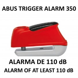 ABUS brake disk lock with 110 dB Alarm Trigger Alarm 350