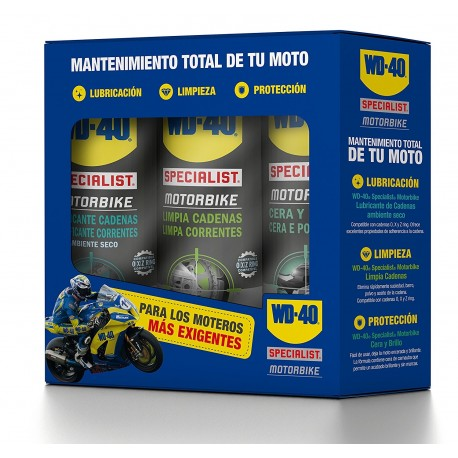 Motorbike Chain Lubricant Chain cleaner and Wax Shine